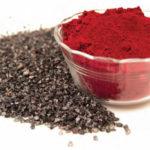 Màu nhuộm đỏ carmine trong điều chế mỹ phẩm